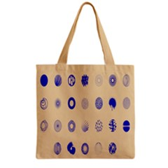 Art Prize Eight Sign Grocery Tote Bag by Alisyart