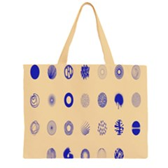 Art Prize Eight Sign Zipper Large Tote Bag by Alisyart