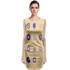 Art Prize Eight Sign Classic Sleeveless Midi Dress