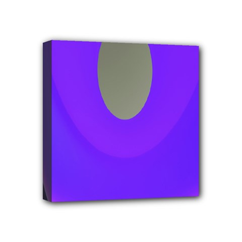 Ceiling Color Magenta Blue Lights Gray Green Purple Oculus Main Moon Light Night Wave Mini Canvas 4  X 4
