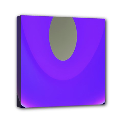 Ceiling Color Magenta Blue Lights Gray Green Purple Oculus Main Moon Light Night Wave Mini Canvas 6  X 6