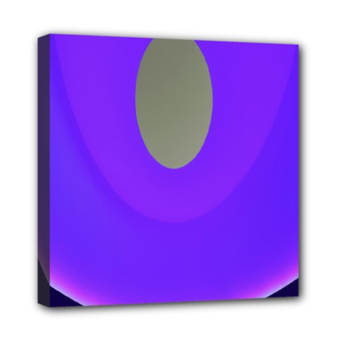 Ceiling Color Magenta Blue Lights Gray Green Purple Oculus Main Moon Light Night Wave Mini Canvas 8  X 8