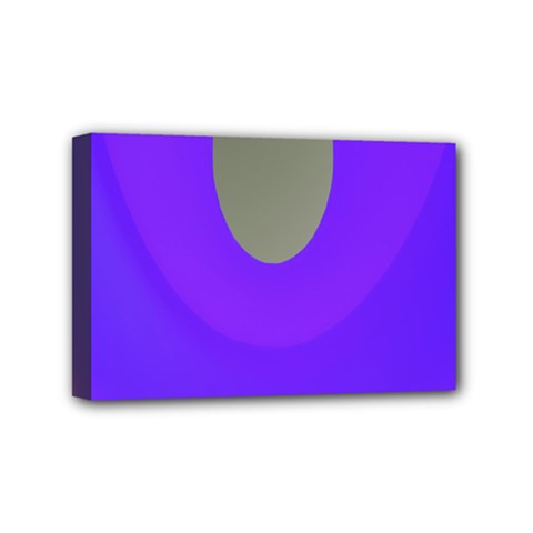 Ceiling Color Magenta Blue Lights Gray Green Purple Oculus Main Moon Light Night Wave Mini Canvas 6  X 4
