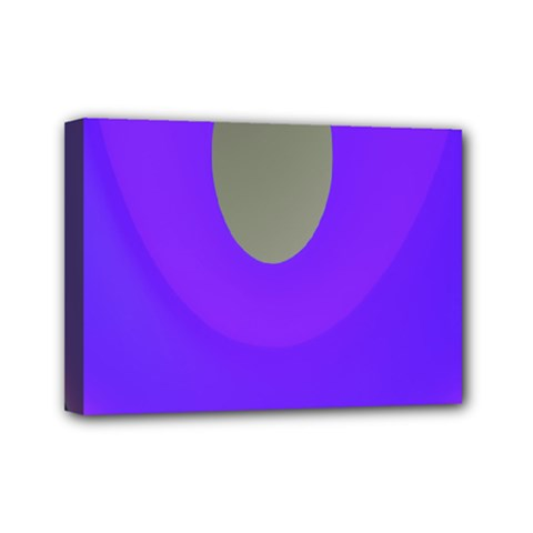 Ceiling Color Magenta Blue Lights Gray Green Purple Oculus Main Moon Light Night Wave Mini Canvas 7  X 5