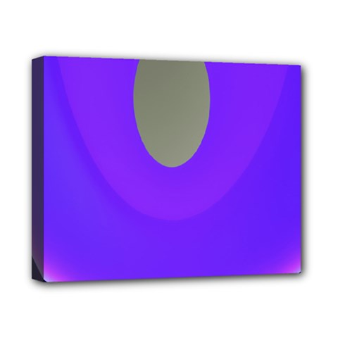 Ceiling Color Magenta Blue Lights Gray Green Purple Oculus Main Moon Light Night Wave Canvas 10  X 8