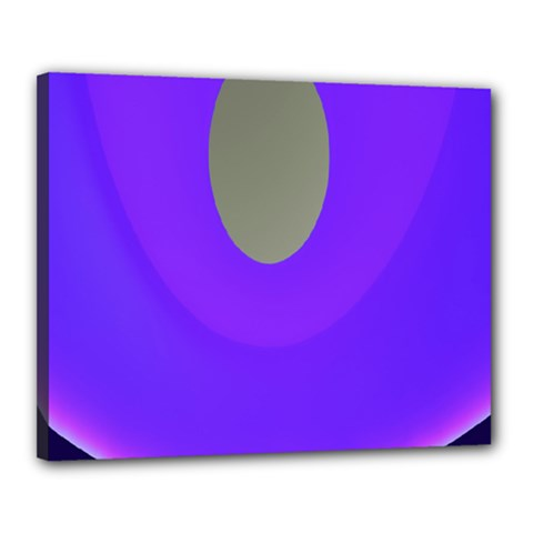 Ceiling Color Magenta Blue Lights Gray Green Purple Oculus Main Moon Light Night Wave Canvas 20  X 16