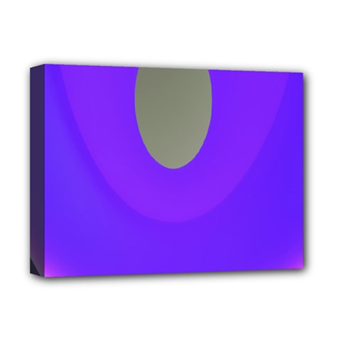 Ceiling Color Magenta Blue Lights Gray Green Purple Oculus Main Moon Light Night Wave Deluxe Canvas 16  X 12