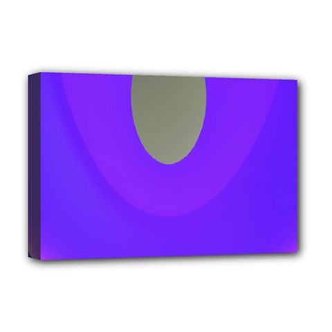 Ceiling Color Magenta Blue Lights Gray Green Purple Oculus Main Moon Light Night Wave Deluxe Canvas 18  X 12