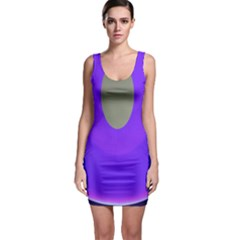 Ceiling Color Magenta Blue Lights Gray Green Purple Oculus Main Moon Light Night Wave Sleeveless Bodycon Dress