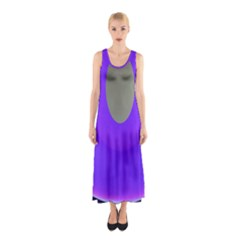Ceiling Color Magenta Blue Lights Gray Green Purple Oculus Main Moon Light Night Wave Sleeveless Maxi Dress