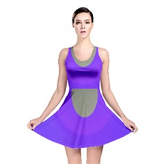 Ceiling Color Magenta Blue Lights Gray Green Purple Oculus Main Moon Light Night Wave Reversible Skater Dress
