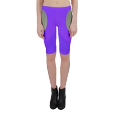 Ceiling Color Magenta Blue Lights Gray Green Purple Oculus Main Moon Light Night Wave Cropped Leggings  by Alisyart