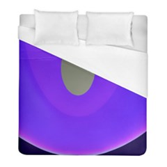 Ceiling Color Magenta Blue Lights Gray Green Purple Oculus Main Moon Light Night Wave Duvet Cover (full/ Double Size)