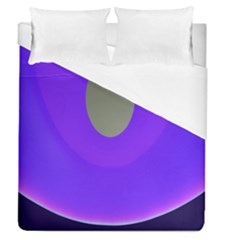 Ceiling Color Magenta Blue Lights Gray Green Purple Oculus Main Moon Light Night Wave Duvet Cover (queen Size)