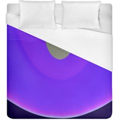 Ceiling Color Magenta Blue Lights Gray Green Purple Oculus Main Moon Light Night Wave Duvet Cover (king Size)