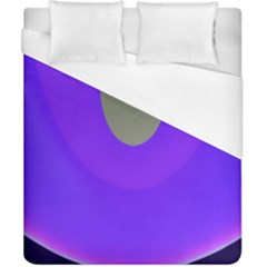 Ceiling Color Magenta Blue Lights Gray Green Purple Oculus Main Moon Light Night Wave Duvet Cover (california King Size) by Alisyart