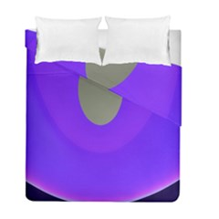 Ceiling Color Magenta Blue Lights Gray Green Purple Oculus Main Moon Light Night Wave Duvet Cover Double Side (full/ Double Size)