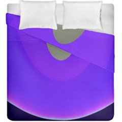 Ceiling Color Magenta Blue Lights Gray Green Purple Oculus Main Moon Light Night Wave Duvet Cover Double Side (king Size)