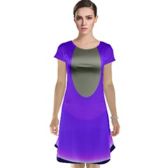 Ceiling Color Magenta Blue Lights Gray Green Purple Oculus Main Moon Light Night Wave Cap Sleeve Nightdress