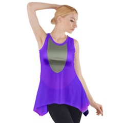Ceiling Color Magenta Blue Lights Gray Green Purple Oculus Main Moon Light Night Wave Side Drop Tank Tunic