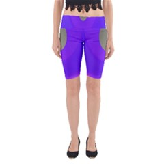 Ceiling Color Magenta Blue Lights Gray Green Purple Oculus Main Moon Light Night Wave Yoga Cropped Leggings