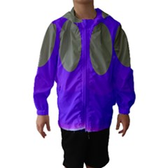 Ceiling Color Magenta Blue Lights Gray Green Purple Oculus Main Moon Light Night Wave Hooded Wind Breaker (kids)