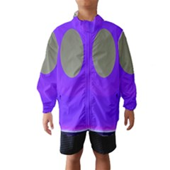 Ceiling Color Magenta Blue Lights Gray Green Purple Oculus Main Moon Light Night Wave Wind Breaker (kids)