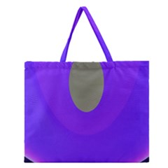 Ceiling Color Magenta Blue Lights Gray Green Purple Oculus Main Moon Light Night Wave Zipper Large Tote Bag
