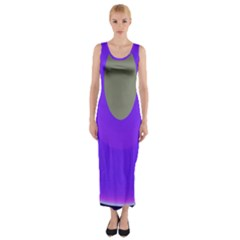 Ceiling Color Magenta Blue Lights Gray Green Purple Oculus Main Moon Light Night Wave Fitted Maxi Dress