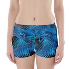Waves Wave Water Blue Hole Black Boyleg Bikini Wrap Bottoms