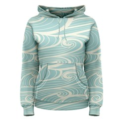 Blue Waves Women s Pullover Hoodie