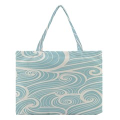 Blue Waves Medium Tote Bag by Alisyart