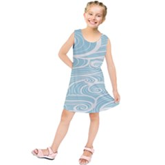 Blue Waves Kids  Tunic Dress