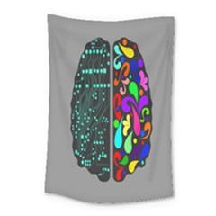 Emotional Rational Brain Small Tapestry