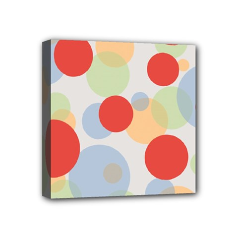 Contrast Analogous Colour Circle Red Green Orange Mini Canvas 4  X 4  by Alisyart