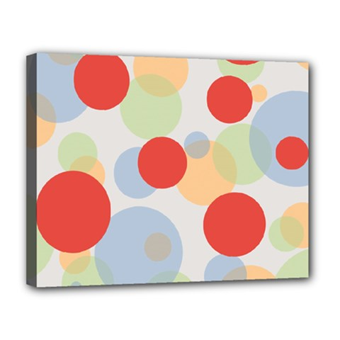 Contrast Analogous Colour Circle Red Green Orange Canvas 14  X 11  by Alisyart
