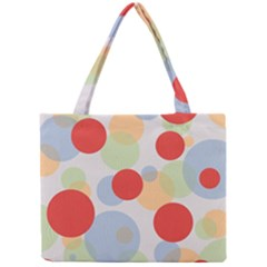 Contrast Analogous Colour Circle Red Green Orange Mini Tote Bag by Alisyart