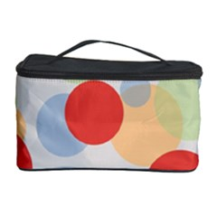 Contrast Analogous Colour Circle Red Green Orange Cosmetic Storage Case by Alisyart