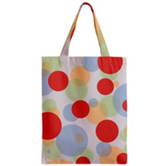 Contrast Analogous Colour Circle Red Green Orange Zipper Classic Tote Bag by Alisyart