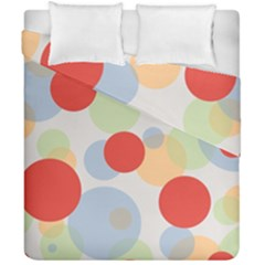 Contrast Analogous Colour Circle Red Green Orange Duvet Cover Double Side (california King Size)
