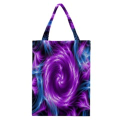 Colors Light Blue Purple Hole Space Galaxy Classic Tote Bag by Alisyart