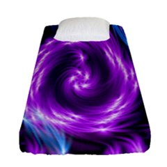 Colors Light Blue Purple Hole Space Galaxy Fitted Sheet (single Size) by Alisyart