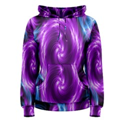 Colors Light Blue Purple Hole Space Galaxy Women s Pullover Hoodie