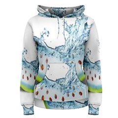 Fruit Water Slice Watermelon Women s Pullover Hoodie