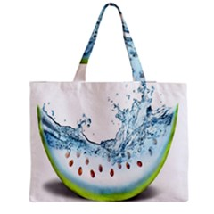 Fruit Water Slice Watermelon Medium Tote Bag by Alisyart