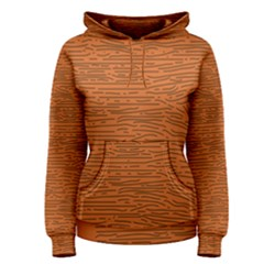 Illustration Orange Grains Line Women s Pullover Hoodie