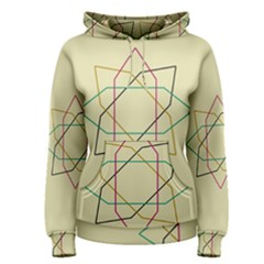 Shape Experimen Geometric Star Sign Women s Pullover Hoodie