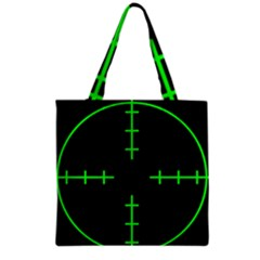 Sniper Focus Grocery Tote Bag by Alisyart