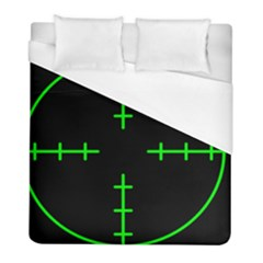 Sniper Focus Duvet Cover (full/ Double Size) by Alisyart