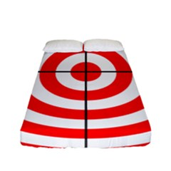 Sniper Focus Target Round Red Fitted Sheet (full/ Double Size) by Alisyart